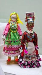 Куклы авторские в чувашском костюме. Шаркова Т.В., 1954