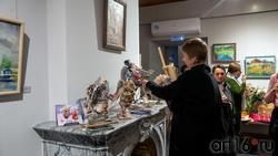 На выставке «Сентиментальное настроение», АняМаня, Наталья Григорьева