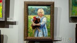 Девочка с петухом. Наталья Григорьева