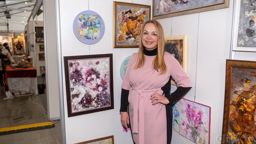 Елена Острая::Арт-выставка «Зимний вернисаж» 2021