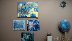 Фрагмент экспозиции выставки «Апокалипсис. Возрождение»