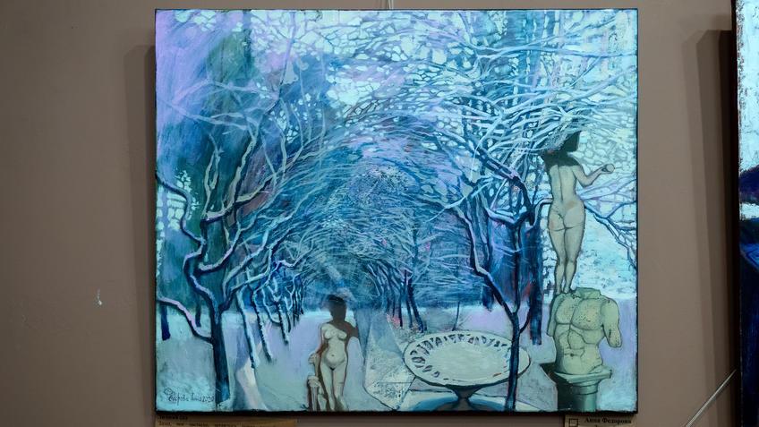 Зимний сад. Анна Федорова::«Апокалипсис. Возрождение ». Адель Халиуллин (скульптура), Анна Федорова (живопись)