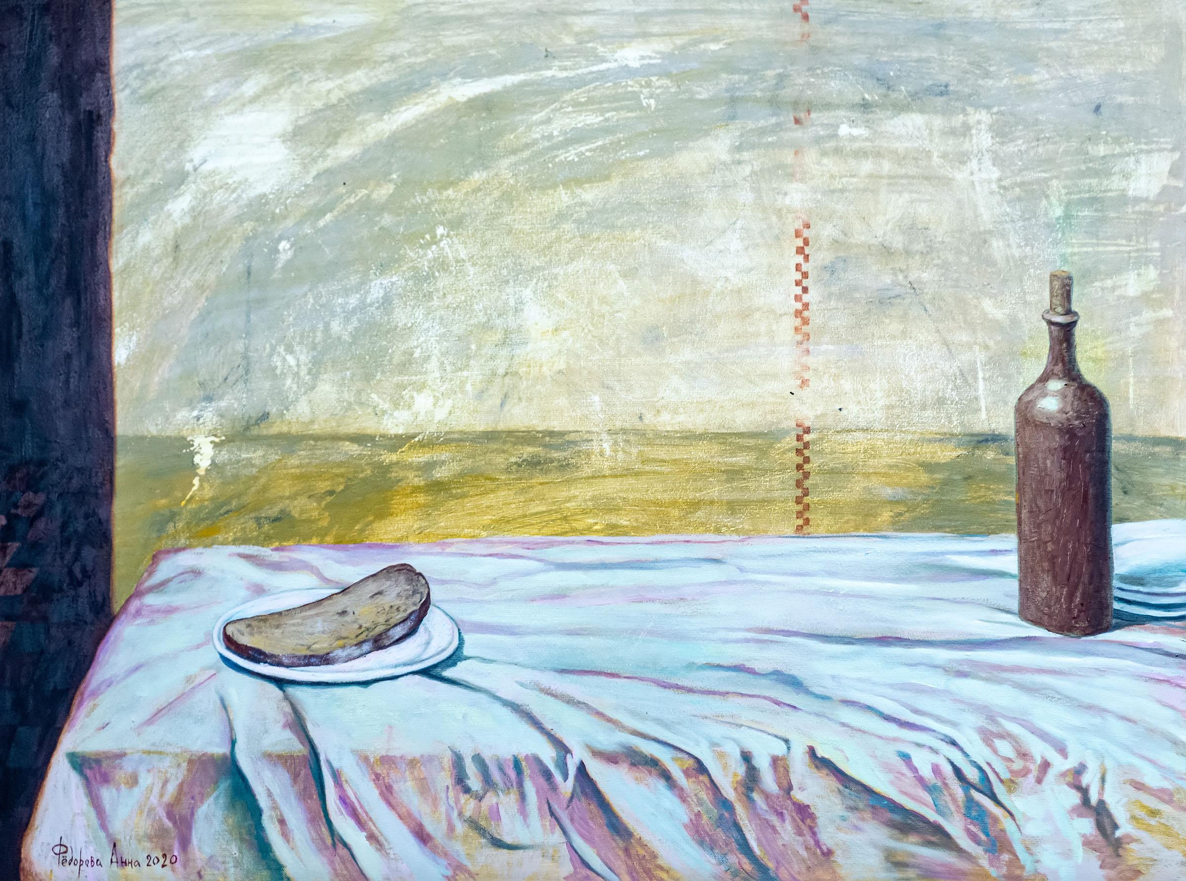 Тайная вечеря. 2020. Анна Федорова::«Апокалипсис. Возрождение ». Адель Халиуллин (скульптура), Анна Федорова (живопись)