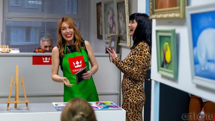 Награждение победителя в номинации «Рыжее настроение»::Людмила Бабаева «Рыжее настроение»