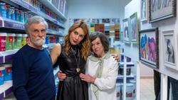 Лдмила Бабаева с родителями