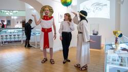 Ожившая экспозиция «Египтяне и календарь»