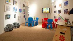 Детский уголок в музее для развивающих занятий