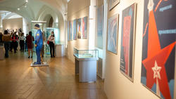 В экспозиции выставки «На пороге Вселенной»