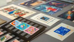 Марки и открытки , посвященные  освоению Космоса