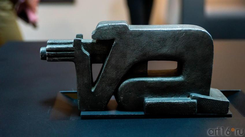 Пулеметчик, 1960, Вадим Сидур::Война и Мир Вадима Сидура
