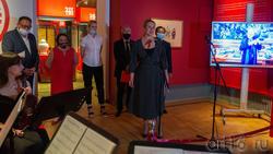 Ирада Аюпова. Открытие выставки «Пять символов счастья»