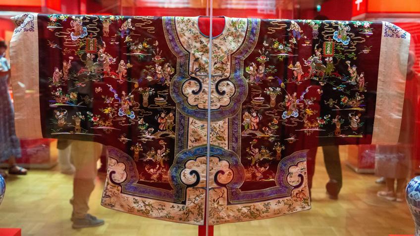 ДПИ , Китай. Выставка «Пять символов счастья»::Пять символов счастья. Выставка Государственного Эрмитажа