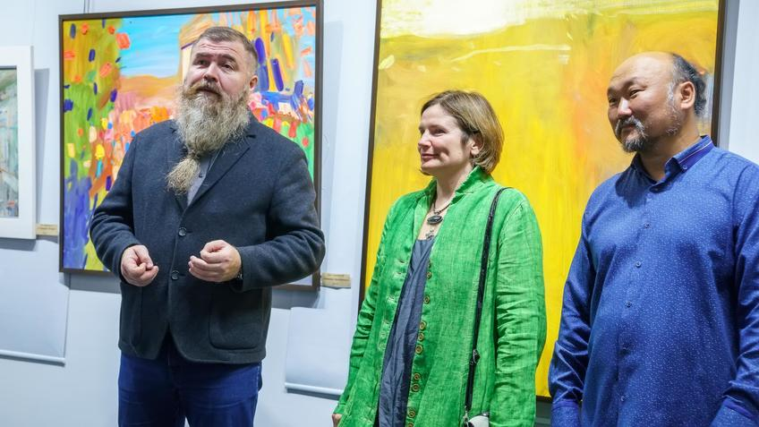 Альберт Шиабиев, Ирина Митрикова, Бато Дугаржапов::Бато Дугаржапов, Ирина Митрикова «Без булдырабыз! Мы можем!»