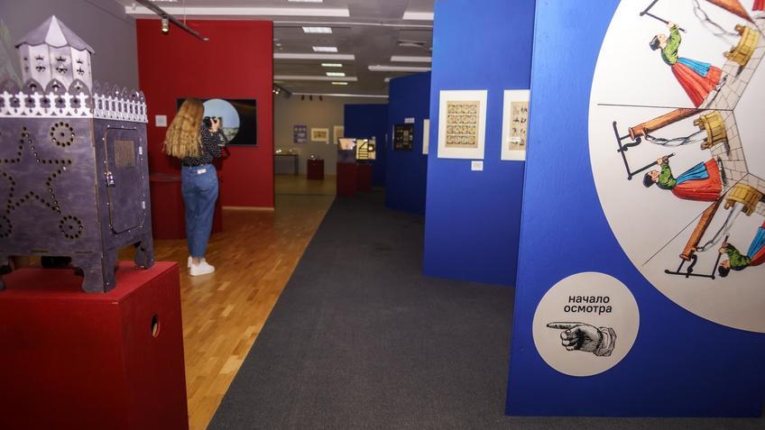 Экспозиция выставки «Пресинема»::Выставка анимационных игрушек «ПРЕСИНЕМА»