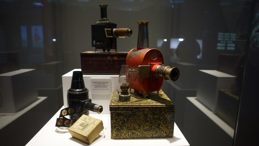 Волшебный фонарь::Выставка анимационных игрушек «ПРЕСИНЕМА»