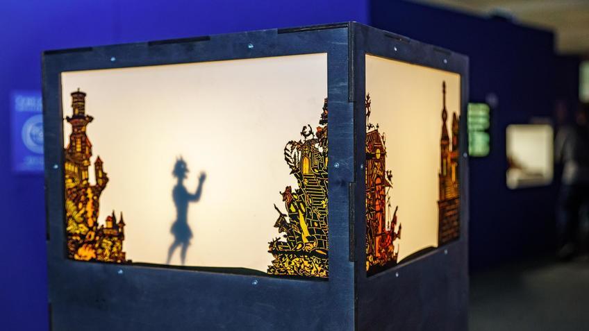 Теневой театр::Выставка анимационных игрушек «ПРЕСИНЕМА»