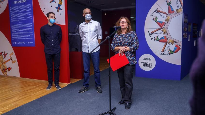 Открытие выставки «Пресинема»::Выставка анимационных игрушек «ПРЕСИНЕМА»