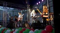 Концертная площадка. 5-й молодежный рок-фестиваль Миллениум